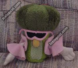 Broccoli plush