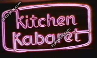 Kitchen Kabaret sign